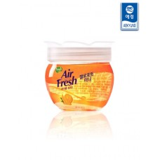 Гелиевый освежитель воздуха Air Fresh Jello Pot Mini Orange 150г