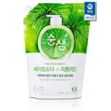 Средство для мытья посуды Soonsaem Baking Soda Phytoncide 1.2л