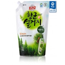 Средство для мытья посуды Trio Antibacterial Natural Phytoncide 1.2л мягкая упаковка