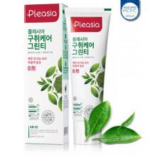 Зубная паста Pleasia Green Tea Toothpaste 100г