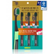 Набор зубных щеток 2080 Dong Jade Toothbrush 4шт