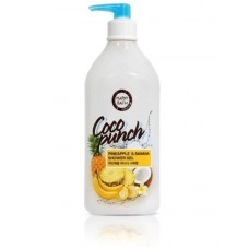 Гель для душа Happy Bath Coco Punch Pineapple & Banana Shower Gel 800г