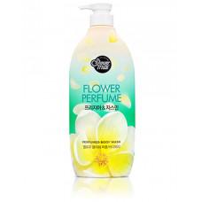 Гель для душа Shower Mate Flower Perfume Yellow Freesia & Jasmine Body Wash 900г