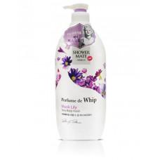 Гель для душа Shower Mate Perfume de whip Sexy Musk Lily Body Wash 900г