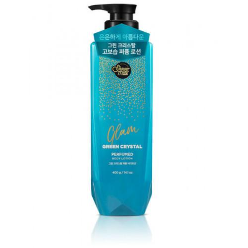 Лосьон для тела Shower Mate Glam Perfumed Green Crystal Lotion 400г
