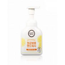 Пенка-мусс для рук Happy Bath Bubble Lemon & Basil 250мл
