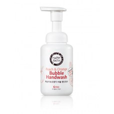 Пенка-мусс для рук Happy Bath Bubble Peach & Orange 250мл