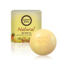 Твердое мыло Happy Bath Natural Moisture Fruit Water Soap 100г