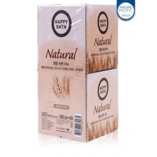 Набор мыла Happy Bath Natural Mild Rice Water Soap 4шт