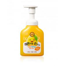 Пенка-мусс для рук Happy Bath Yellow Bubble Lemon