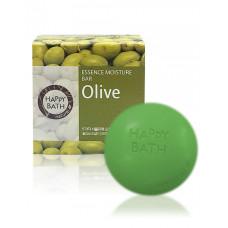 Твердое мыло Happy Bath Essence Moisturizing Bar Olive Soap 100г
