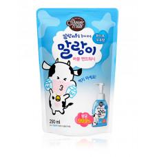 Пенка-мусс для рук Shower Mate Bubble White Milk 250мл