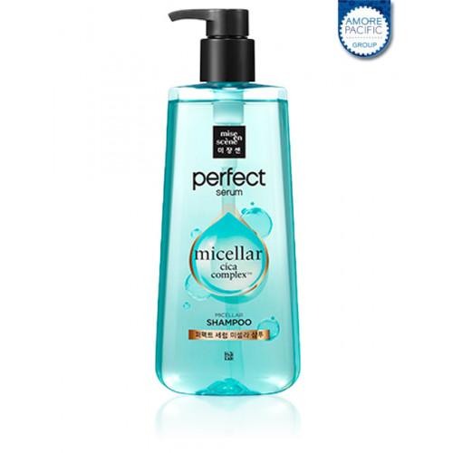 Шампунь для волос Mise-en-scène Perfect Serum Micellar Shampoo 680мл